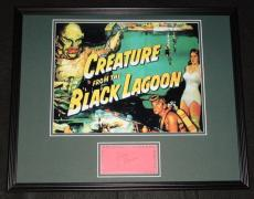 Julie Adams Signed Framed 16x20 Photo Display Creature from the Black Lagoon B