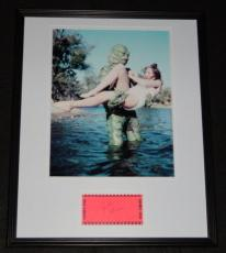Julie Adams Signed Framed 16x20 Photo Display Creature from the Black Lagoon