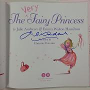 JULIE ANDREWS Signed The Very Fairy Princess Book Autograph Signed Edition