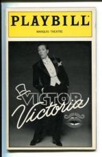 Julie Andrews Tony Roberts Michael Nouri Rachel York Victor Victoria Playbill