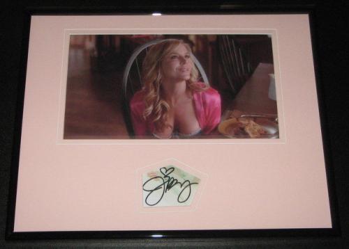 Julie Benz SEXY Signed Framed 11x14 Photo Display Dexter Buffy