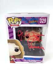 Julie Dawn Cole Willy Wonka Veruca Salt Funko Pop Action Figure Autograph JSA