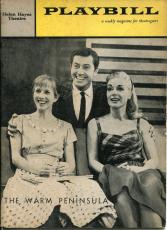 Julie Harris June Havoc Larry Hagman Farley Granger Warm Peninsula Playbill