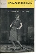 Julie Harris William Shatner A Shot In The Dark 1961 Opening Night Playbill