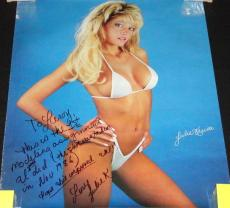 "Julie Kruis Signed Vintage 1987 22x38"" Poster w/ lengthy inscription"