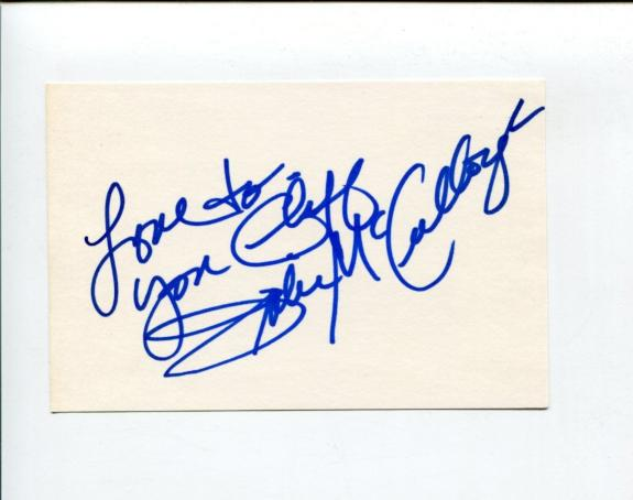 Julie McCullough Sharknado Growing Pains Playboy Playmate Signed Autograph