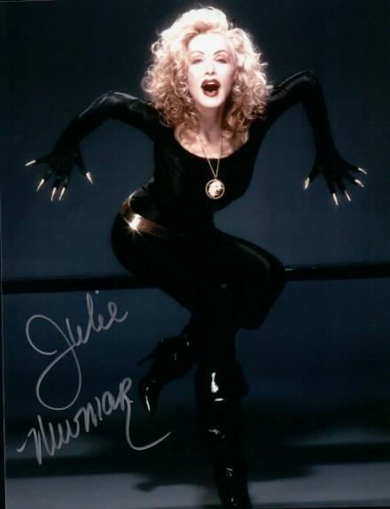 Julie Newmar Signed Autographed 8X10 Photo Batman Catwoman Recent Sexy Pose JSA