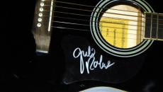 Julie Roberts Autographed Signed Acoustic Guitar