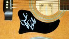 Julie Roberts Autographed Signed Natural Acoustic Guitar
