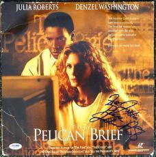 Julie Roberts Autographed Signed The Pelican Brief Laser Disc PSA/DNA #Q89527
