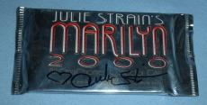Julie Strain Signed Marilyn Monroe 2000 Trading Card Wax Pack PSA/DNA Unopened