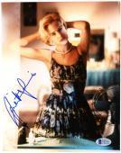 """Juliette Lewis Autographed 8""""x 10"""" Flowered Dress Photograph - BAS COA"""