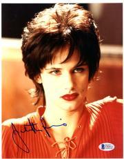 "Juliette Lewis Autographed 8""x 10"" Natural Born Killers Dark Hair Photograph - Beckett COA"