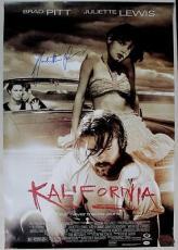 Juliette Lewis Kalifornia Signed 27x39 Poster Psa/dna #j00741