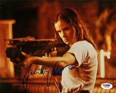 Juliette Lewis Natural Born Killers Signed 8x10 Photo Psa/dna #i84548