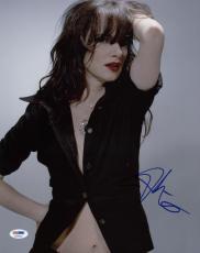 Juliette Lewis Sexy Signed 11x14 Photo Autographed Psa/dna #x34919