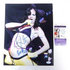 Juliette Lewis Signed 11 x 14 Color Photo Pose #4 JSA Auto