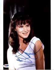 Juliette Lewis Signed 8x10 Photo Autographed Psa/dna #t50578