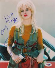 Juliette Lewis Signed Authentic Natural Born Killers 8x10 Photo PSA/DNA #I76500