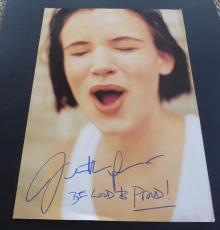 Juliette Lewis Signed Autographed 9x13 Large Photo W/ INSCRIPTION PSA Guaranteed
