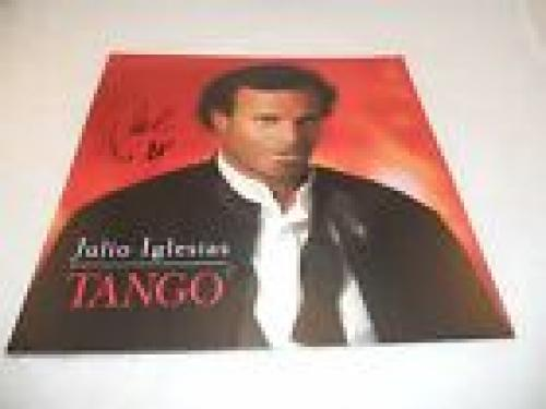 Julio Inglesias Autographed Signed Tango LP Poster Flat PSA Guaranteed #2