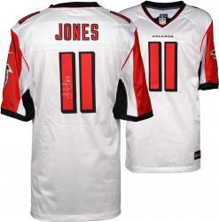 Julio Jones Atlanta Falcons Autographed Nike Limited White Jersey