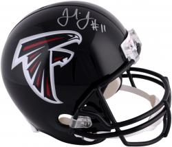 Julio Jones Atlanta Falcons Autographed Riddell Replica Helmet