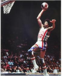 "Julius Erving New Jersey Nets Autographed 16"" x 20"" Dunking Photograph  - Mounted Memories"