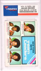 Julius Erving New Jersey Nets 1975-76 Topps #282 Card