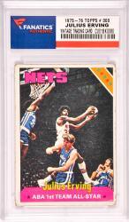 Julius Erving New Jersey Nets 1975-76 Topps #300 Card