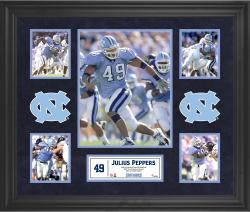 Julius Peppers North Carolina Tar Heels Framed 5-Photo Collage