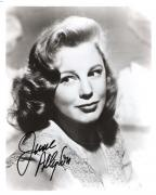 "JUNE ALLYSON - Movies Included ""TWO GIRLS and A SAILOR"" and ""TOO YOUNG TO KISS"" (Passed Away 2006) Signed 8x10 B/W Photo"