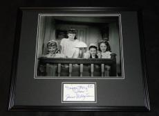June Allyson Signed Framed 16x20 Photo Poster Display JSA Little Women