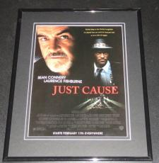 Just Cause 1995 11x14 Framed ORIGINAL Advertisement Sean Connery L Fishburne