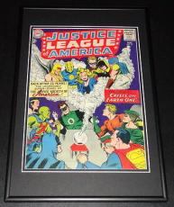 Justice League of America #21 Framed 10x14 Cover Poster Photo Justice Society