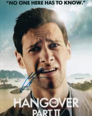 Justin Bartha signed The Hangover 8x10 movie photograph w/coa Doug #JB1