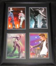 Justin Bieber Framed 18x24 Photo Collage Display In Concert