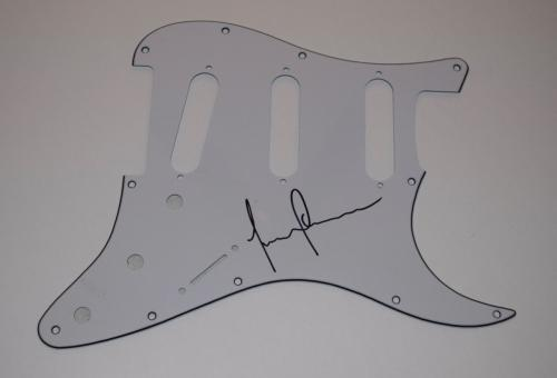 Justin Chancellor Signed Autograph Guitar Pickguard Bassist of TOOL COA