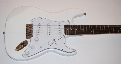 Justin Chancellor Signed Autographed Electric Guitar Bassist of TOOL COA