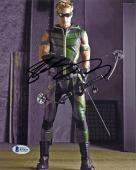 Justin Hartley Smallville Signed 8X10 Photo Autographed BAS #B51429