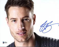 Justin Hartley This Is Us Signed 8X10 Photo Autographed BAS #B81146