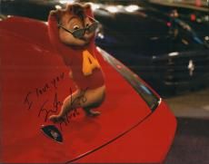 Justin Long Signed 11x14 Photo w/COA Authentic Alvin and the Chipmunks w/Proof