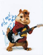 Justin Long signed Alvin and The Chipmunks 8x10 photo proof autographed w/coa #1