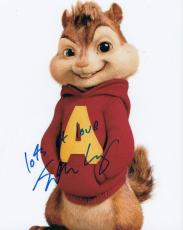 Justin Long signed Alvin and The Chipmunks 8x10 photo proof autographed w/coa #3