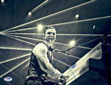 "Justin Timberlake Autographed 11"" x 14"" Piano Photograph - PSA/DNA"