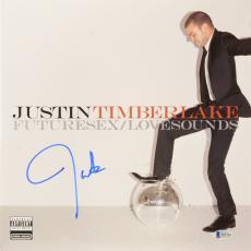 Justin Timberlake Autographed Futuresex/Lovesounds Vinyl Album Cover - Beckett