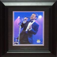Justin Timberlake Autographed Music Deluxe Framed 8x10 Photo - PSADNA