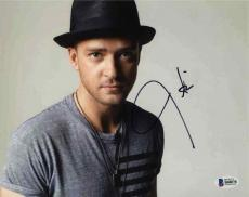 Justin Timberlake Autographed Signed 8x10 Photo Certified Authentic BAS COA