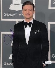 Justin Timberlake Autographed Signed 8x10 Photograph JSA