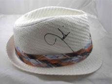 Justin Timberlake Autographed Signed Fedora Style Hat Certified PSA/DNA COA